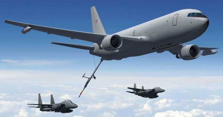 Boeing KC-46 Tanker Completes First Air Refueling
