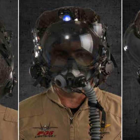 Lightweight F-35 helmet tests begin-1