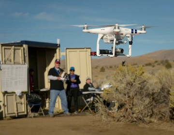 NASA conducts 'out of sight' drone tests