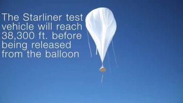 Boeing Starliner parachute testing