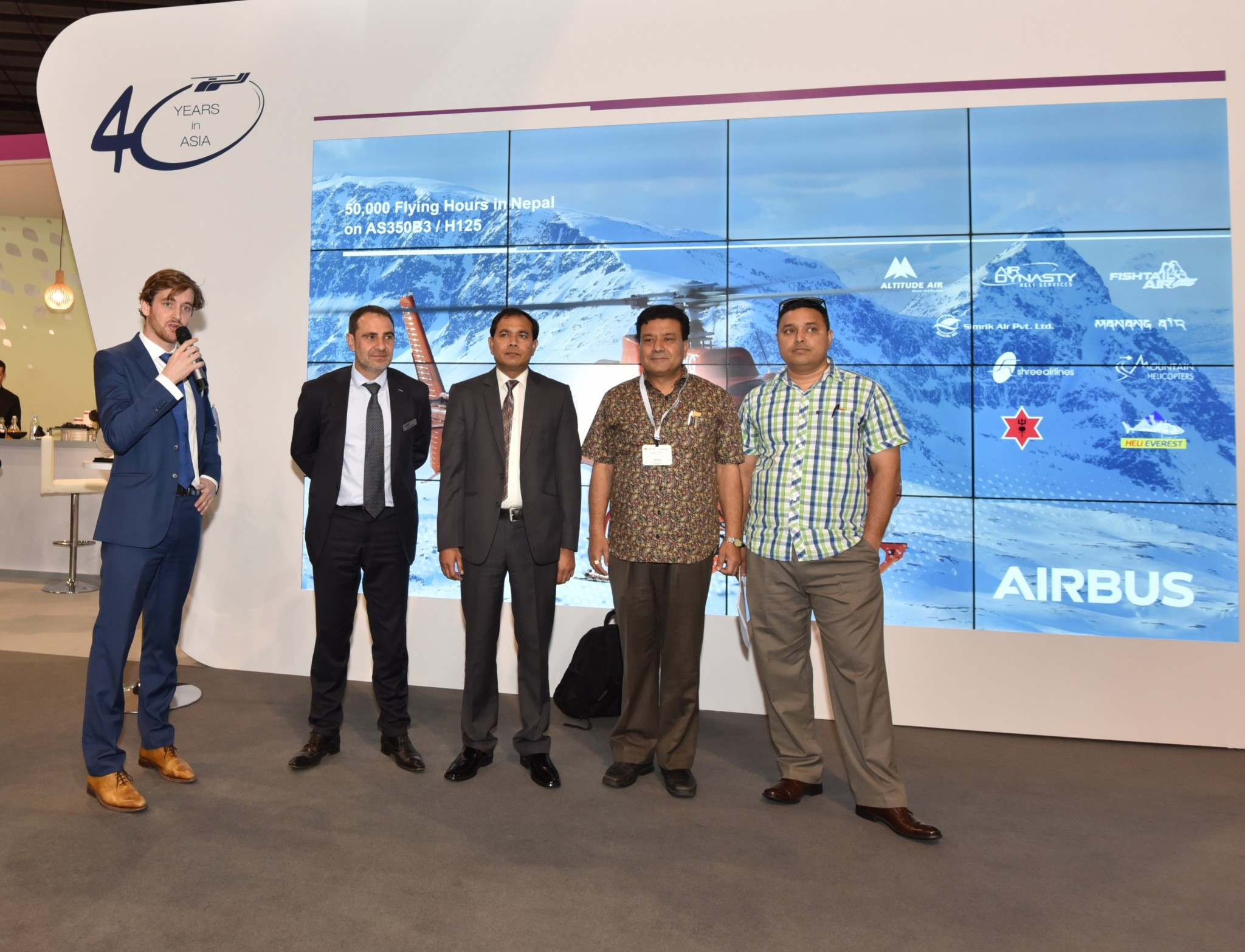 Airbus and Nepalese operators mark 50,000 flight hours of the H125 in the Himalayan Kingdom