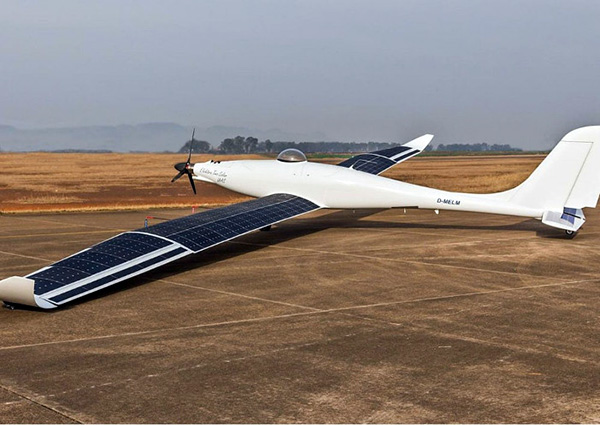 German solar-electric aircraft performs autonomous flight test