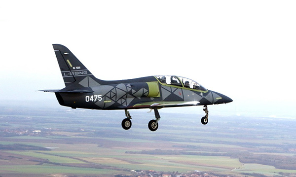 The new Czech L-39NG made its first flight performing first development tests