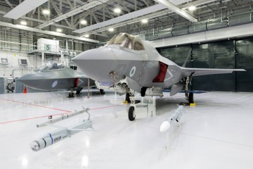F-35B on display at RAF Marham (Image: Crown Copyright)