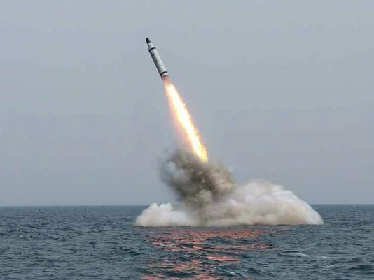 surface-to-surface missile