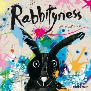 Rabbityness is a debut picture book by author/illustrator Jo Empson