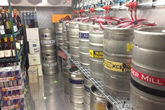 Bar beer key system