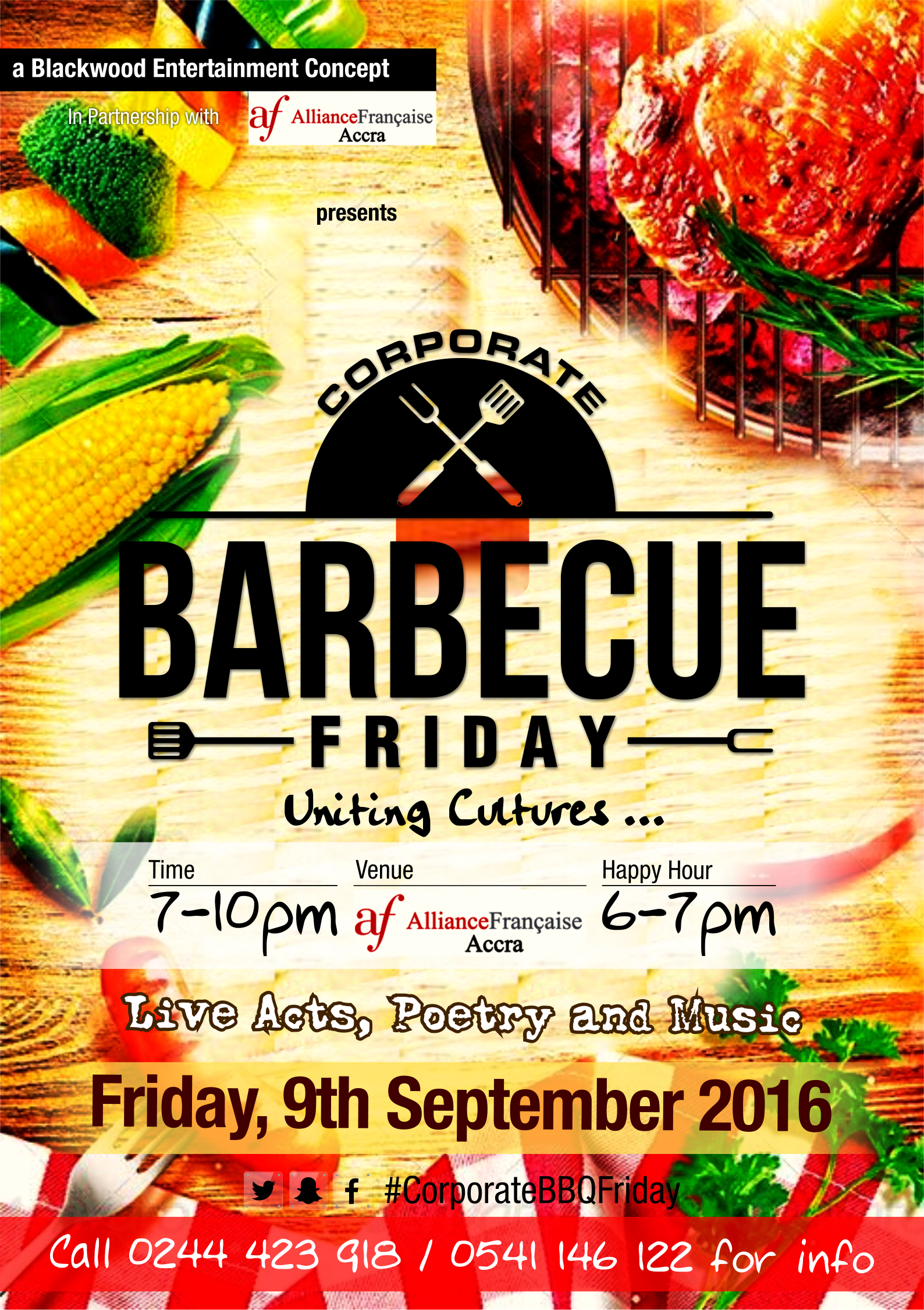 Networking & Barbecue : CORPORATE BARBECUE FRIDAY