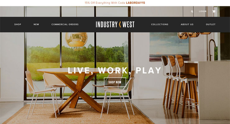 Website E-Commerce Industry West