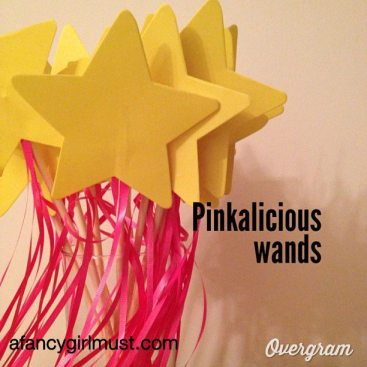 Pinkalicious Star Wand | AFancyGirlMust.com