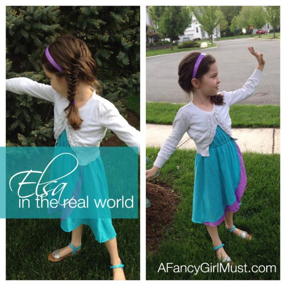 #OOTD #KLOTD: Elsa in the Real World | AFancyGirlMust.com