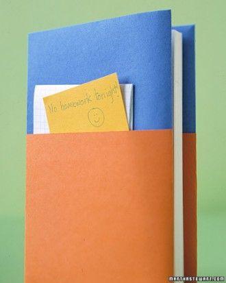 Textbook Cover: Pocket found on Martha Stewart