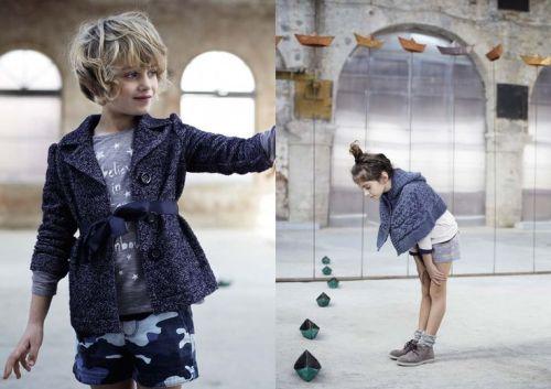Kid Style: Benetton Kids Autumn 2014 | AFancyGirlMust.com