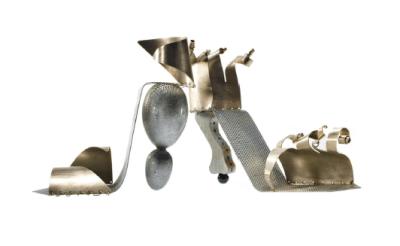 """Tin Can Alley"" Art & Sole by Jane Gershon Weitzman | AFancyGirlMust.com"