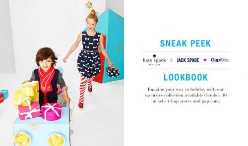 Kate Spade/Jack Spade for GapKids | AFancyGirlMust.com
