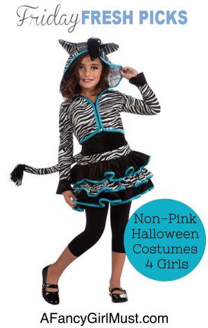Friday Fresh Picks: Non-Pink Halloween Costumes for Girls | AFancyGirlMust.com