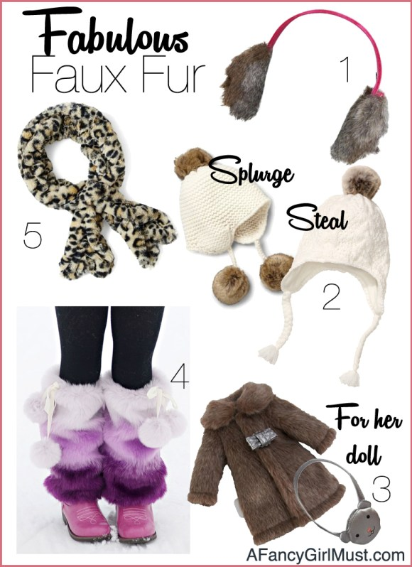 All Bundled Up in Fabulous Faux Fur | AFancyGirlMust.com