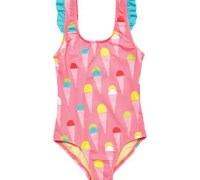 Dive Into Summer in Pink Chicken Swimwear for Girls