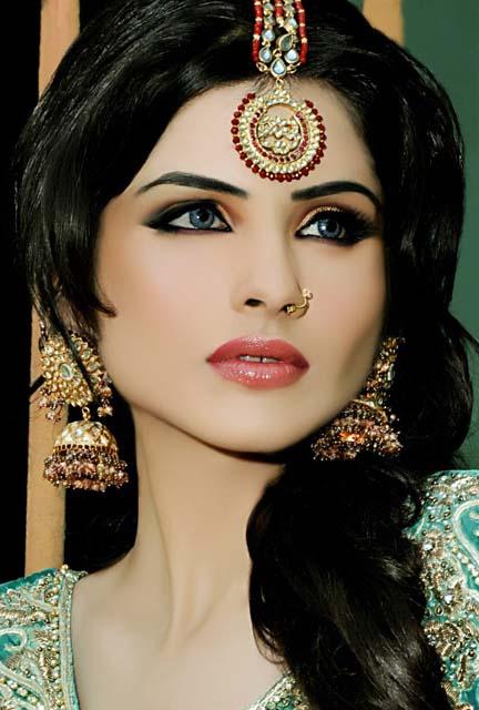 latest hairstyle   n pro nabila salon bridal makeup 2013 2014