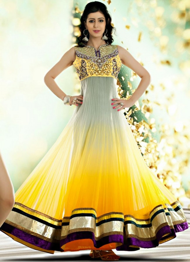 Pakistani indian frocks design for marriage