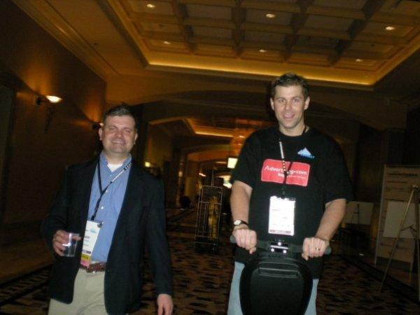 Sam Harrelson and Shawn Collins