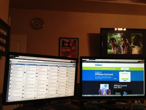 I monitor HootSuite all day