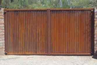 CG100 Corrugated Steel Gate