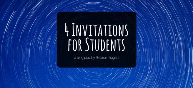 4 invitations for students afhogan