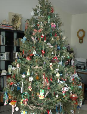 Our tree in all its glory.