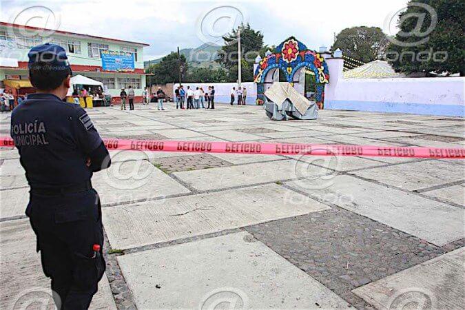 La explosión dejó seis heridos.