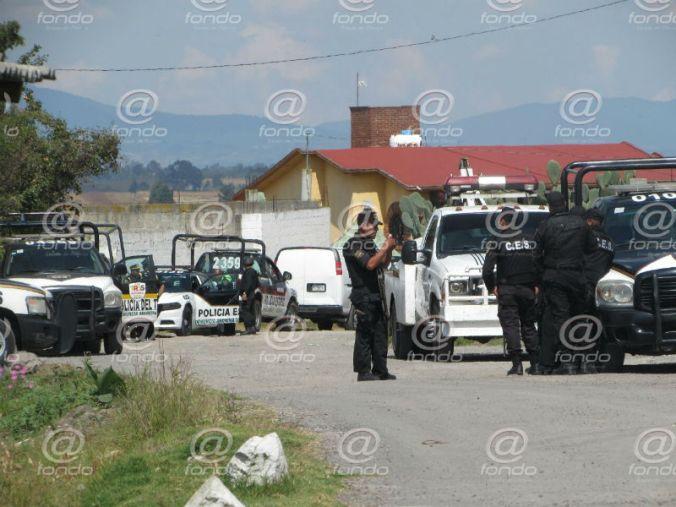 El lugar quedó resguardado en espera de la llegada del Ministerio Público.