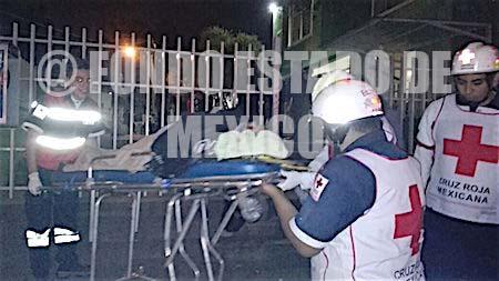 Detienen a un hombre por golpear a su esposa con un marro en Ecatepec