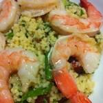 Shrimp and Couscous Salad with Mint (Photo Credit: Adroit Ideals)
