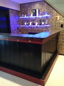 "The ""after"" photo of our 1970s Bar Remake (Photo Credit: Adroit Ideals)"