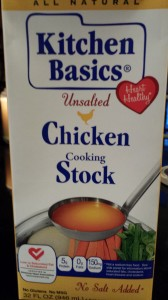 Kitchen Basics' Unsalted Chicken Stock (Photo Credit: Adroit Ideals)
