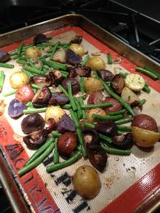 Vegetables -- ready for the oven (Photo Credit: Adroit Ideals)