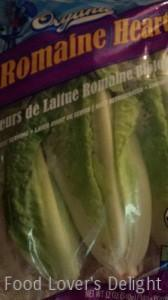 Organic Romaine Lettuce Hearts (Photo Credit: Adroit Ideals)