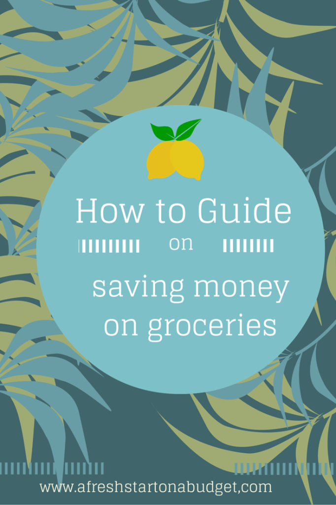 how to guide:saving money on groceries