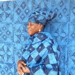 SOLOLA、ナイジェリアのヨルバ族と藍染ストールを製作!企画展「ラフィアの夏支度」にて販売中!