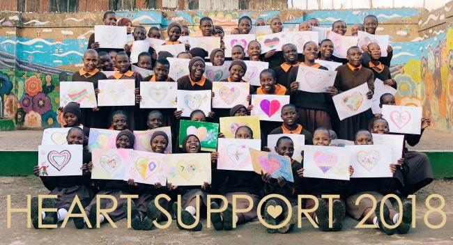 ケニアの女の子を「いいね」でサポート!大王製紙、「ハートサポート2018」を実施!