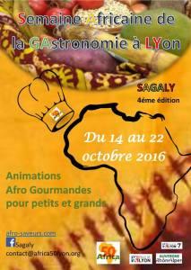 Semaine Africaine de la GAstronomie à LYon SAGALY 4éme édition