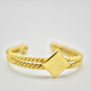 Fulaba gold dipped Fulani bracelet 2