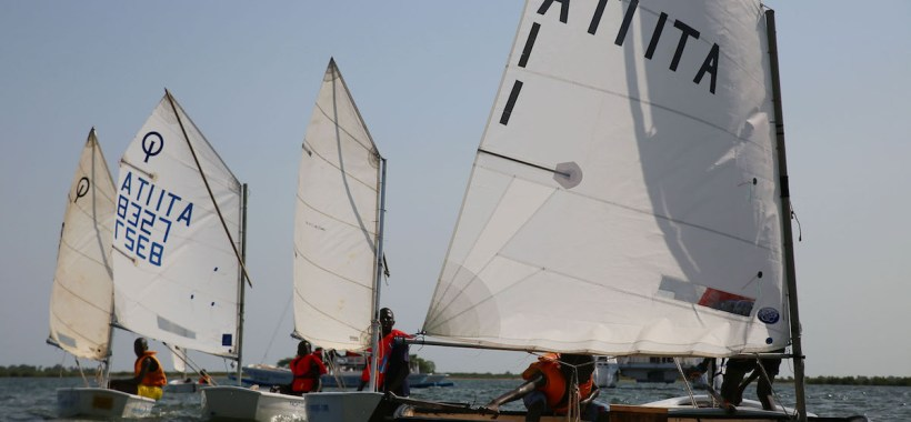 Vela optimist