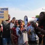 manifestazione per la democrazia