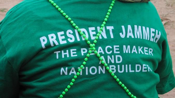 sostenitrice Yaya Jammeh