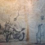 Opera di Ismaela Manga. Partcours a Dakar.