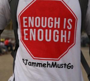 Campagna contro Yaya Jammeh