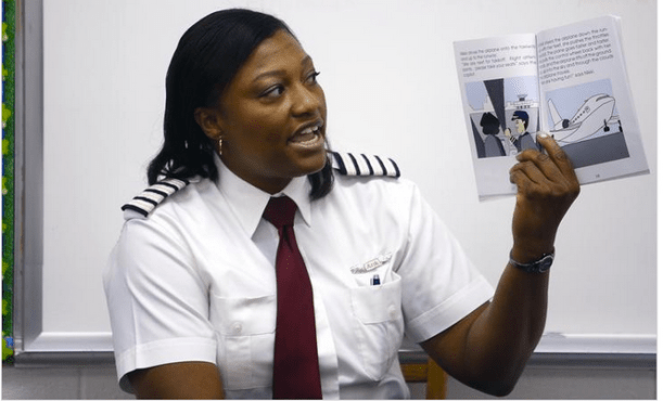 Nigerian Female Pilot