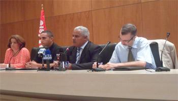 Au cours d'une conférence de presse tenue vendredi à Tunis