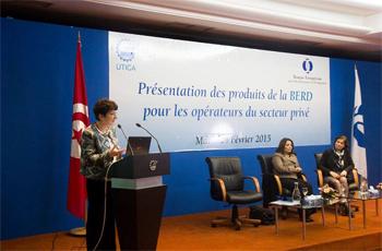 « 2015 s'annonce très prometteuse pour la BERD en Tunisie ». C'est ce qu'a annoncé la représentante de la banque précisant qu'elle sera l'année de l'élaboration de la première stratégie entre le gouvernement et ladite institution. ...